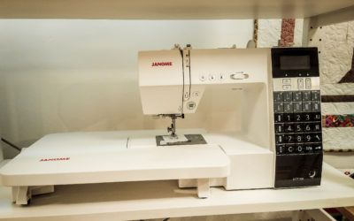 Ausstellungsstück Janome DC 7100 sucht neues Zuhause!